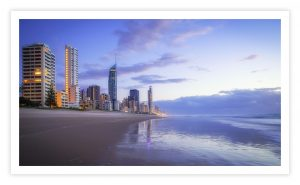 Gold Coast - Surfers Paradise - Beautiful Photo